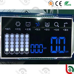 Stn 7segment Monochrome LCD