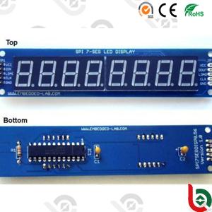 Stn 7segment Monochrome LCD 1